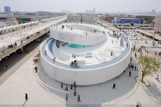 BIG (Bjarke Ingels Group). Павильон Дании на Экспо-2010 в Шанхае. Фото © Iwan Baan