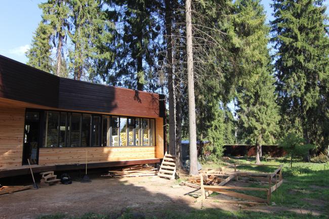 Серия домов «Дом-ковчег». Ковчег-6 (6 модулей). Постройка, 2015 © АрхПроект-3