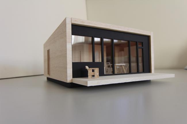 Серия домов «Дом-ковчег». Ковчег-3 (3 модуля). Макет. 2015 © АрхПроект-3