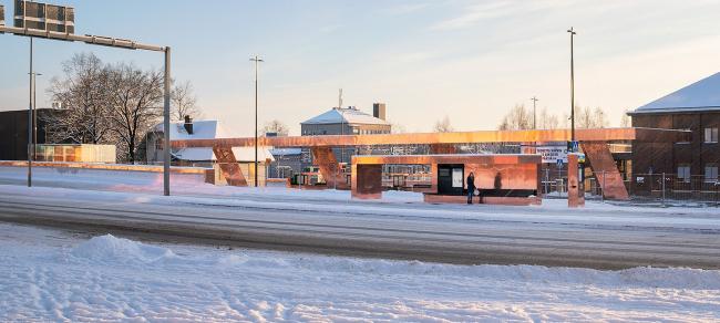 Транспортный узел в Лахти © Mika Huisman