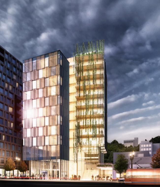 Башня Framework © Lever Architecture