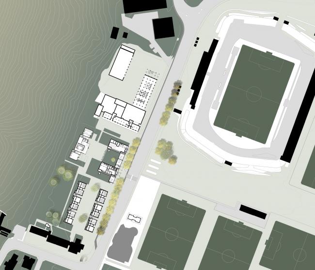 Проект Поля Филиппа Сонне-Фредериксена. Ситуация