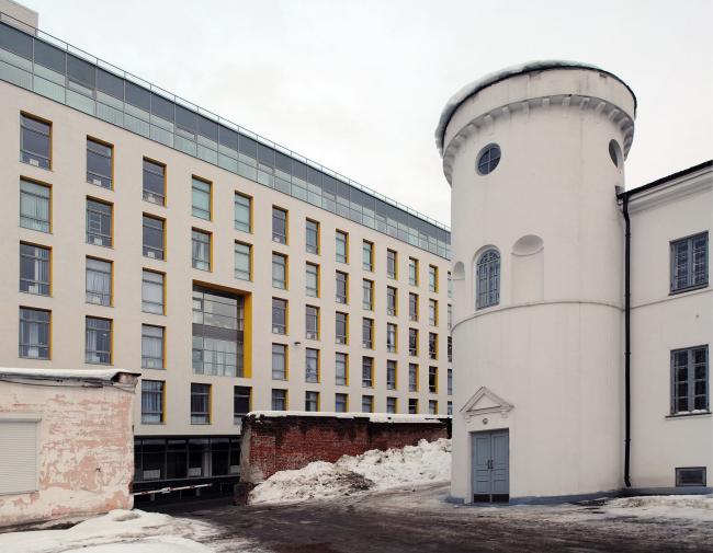 Офисное здание «Острог». Фото Надежды Щема
