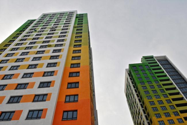 Жилой комплекс «Колер». Фото Надежды Щема