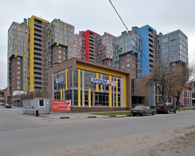 Жилой комплекс «Парад». Фото Надежды Щема