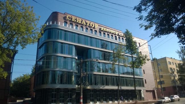 Административное здание «Секатор». Фото предоставлено бюро Пестова и Попова