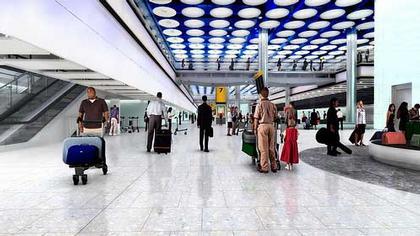 Аэропорт Хитроу - Терминал 5. Проект