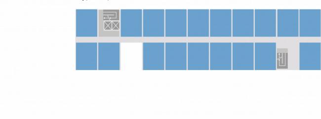 Комплексная общественно-жилая застройка на Васильевском острове. 1 тип квартир. Проект, 2015 © KCAP Architects & Partners + ORANGE Architects