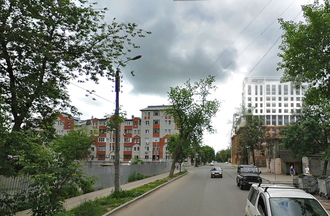 Residential complex in Kaluga. Photo montage. Project, 2015 © GrandProjectCity