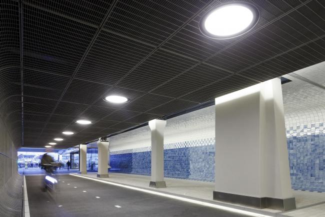 Пешеходный тоннель Кёйперспассаж © Jannes Linders