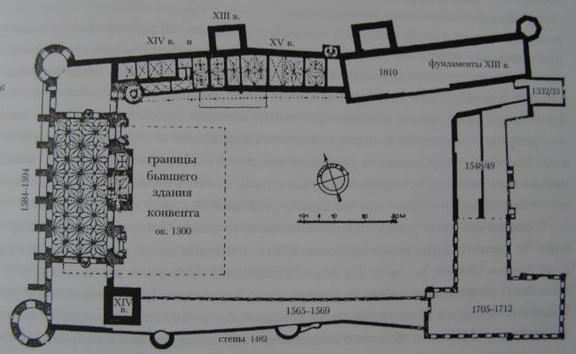 Проект историко-культурного комплекса в Калининграде. План замка Кёнингсберг. Проект, 2015 © Архитектурная матсерская А.А. Столярчука