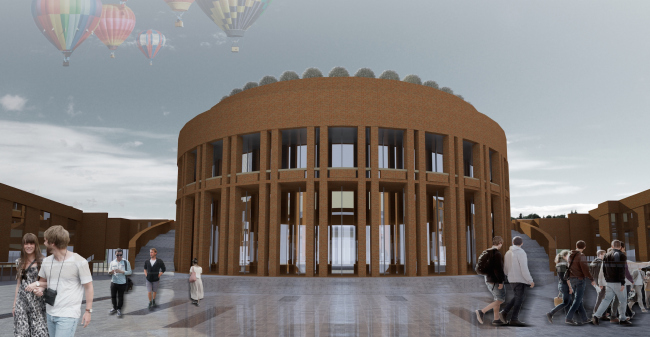 A project of historical and cultural center in Kaliningrad. Project, 2015 © Anatoly Stolyarchuk Architectural Studio