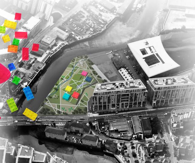 Детский сад в Лондоне. Ситуационный план. Проект, 2015 © Архитектурная мастерская А.А. Столярчука