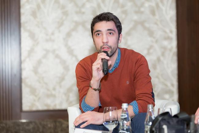 Сергей Труханов. Фотография © Василий Буланов, предоставлено speech: