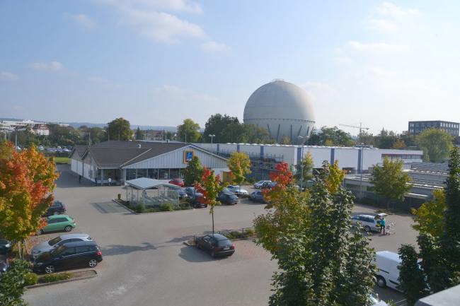 Газгольдер в Хайльбронне. Фото предоставлено Auer Weber