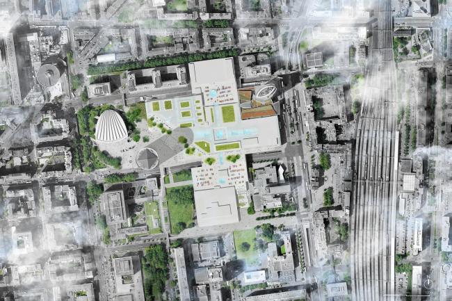 Торговый центр La Part-Dieu – реконструкция. Изображение: MVRDV