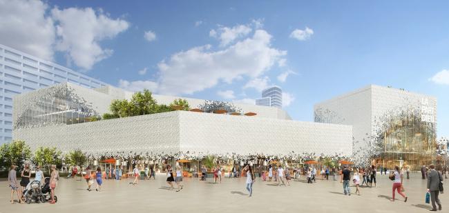 Торговый центр La Part-Dieu – реконструкция. Изображение: l′autre image