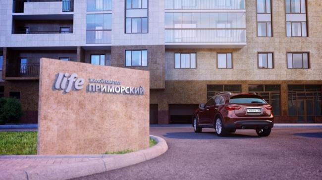 Жилой квартал LIFE-Приморский. Реализация, 2016. Изображение: life-primorskiy.ru