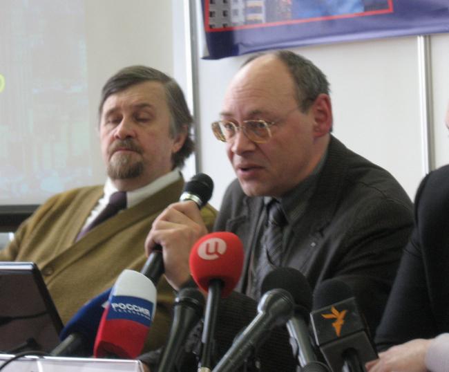 О. А. Баевский - заместитель генерального директора НИиПИ Генплана Москвы