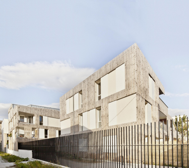 Жилой комплекс в Нантере © Arnaud Schelstraete