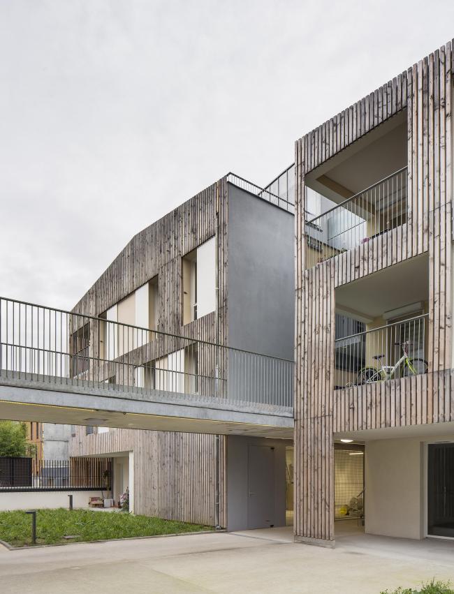 Жилой комплекс в Нантере © Luc Boegly