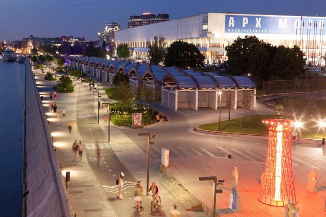 Реновация Крымской набережной. Фотография © Илья Иванов