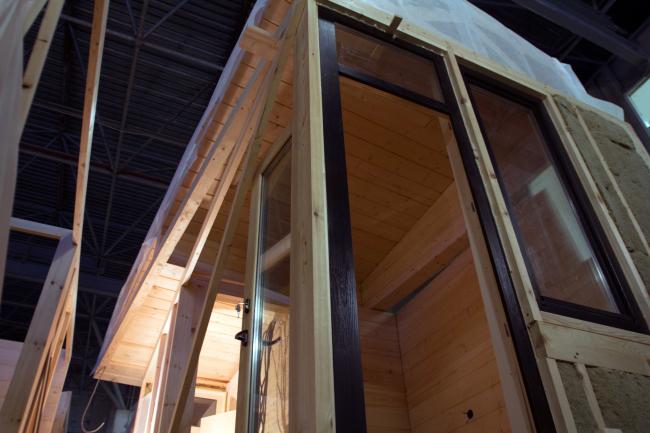 Серия домов «Дом-ковчег». Производство. 2015 © АрхПроект-3