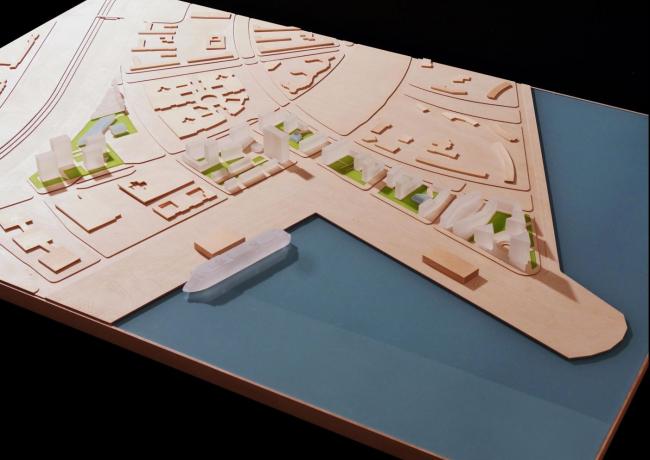 Концепция развития намывных территорий на Васильевском острове © Cino Zucсhi Architetti Srl. Предоставлено компанией Glorax Development
