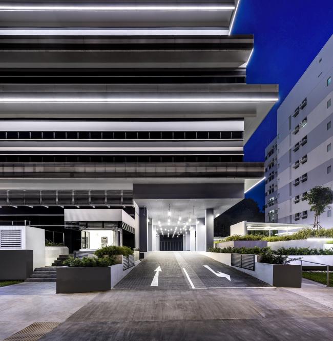 """Офисное здание компании """"Ministry of Design"""". Сингапур © Ministry of Design"""
