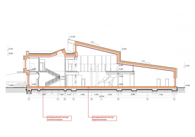 Kindergarten in Beloyarsky. Passive House Institute (PHI) concept. Project, 2014 © City-Arch