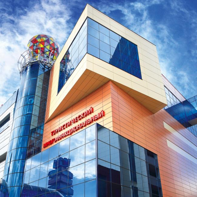 Туристический многофункциональный центр «ГРИНН», Орёл. Фотография предоставлена ГК «АЛЮТЕХ»
