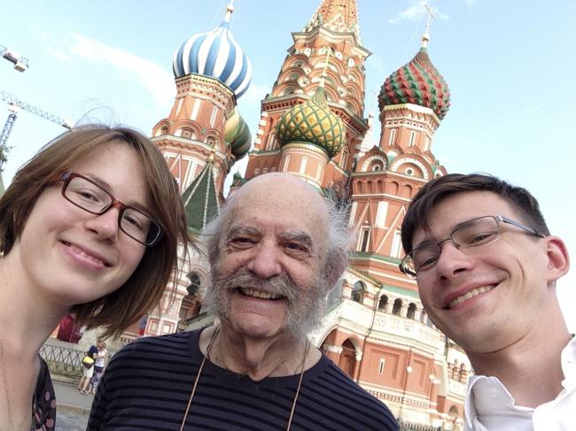 Надежда Снигирёва, Генри Санофф и Дмитрий Смирнов © «Проектная группа 8»