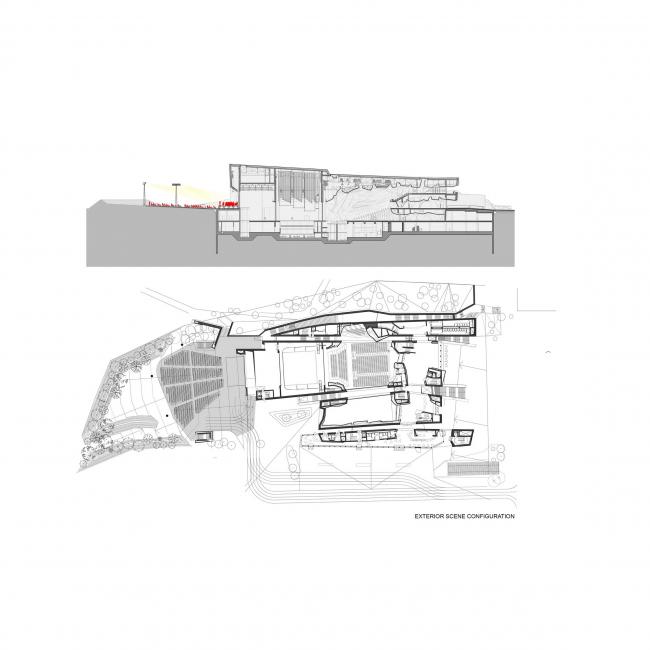 Концертный зал в квартале Йорданки © Fernando Menis Architects