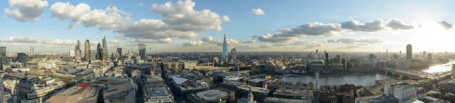 Текущая панорама Лондона © Visualhouse and photographer Dan Lowe
