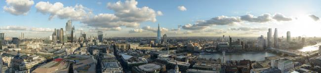 Визуализация будущей панорамы Лондона © Visualhouse and photographer Dan Lowe