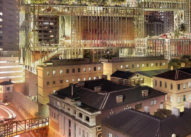 Центральный полицейский участок - реконструкция. Проект 2007 © Herzog & de Meuron