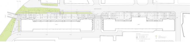 Арма: благоустройство пешеходной зоны. План © Сергей Киселёв и Партнёры