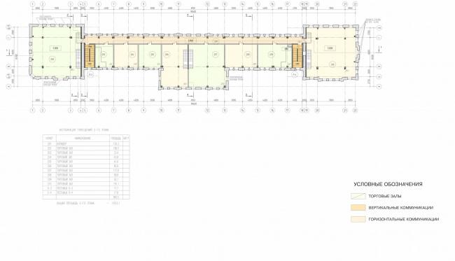 Арма: корпус 1. План 2 этажа © Сергей Киселёв и Партнёры