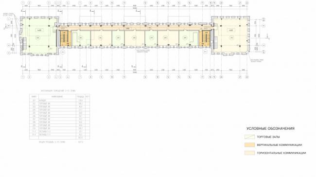 Арма: корпус 2. План 2 этажа © Сергей Киселёв и Партнёры
