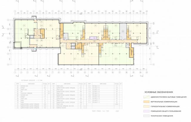 Арма: корпус 3. План -1 этажа © Сергей Киселев и Партнеры