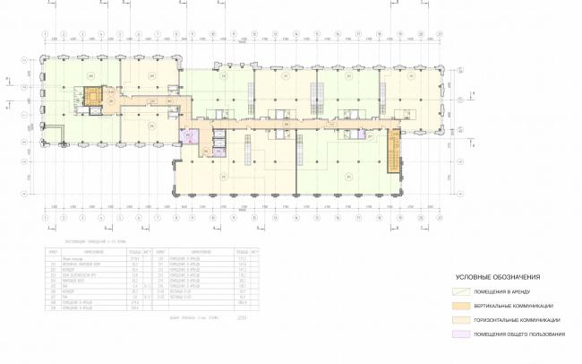 Арма: корпус 3. План 2 этажа © Сергей Киселев и Партнеры
