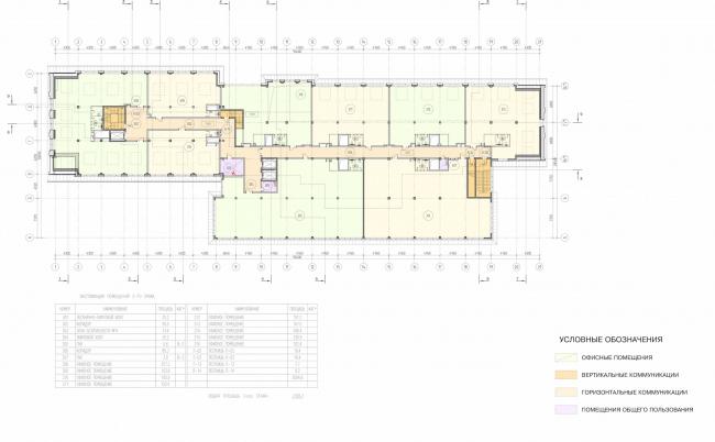 Арма: корпус 3. План 3 этажа © Сергей Киселев и Партнеры