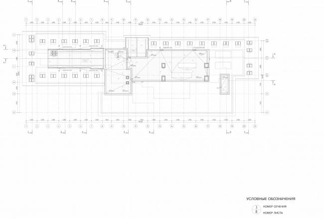 Арма: корпус 3. План кровли © Сергей Киселев и Партнеры