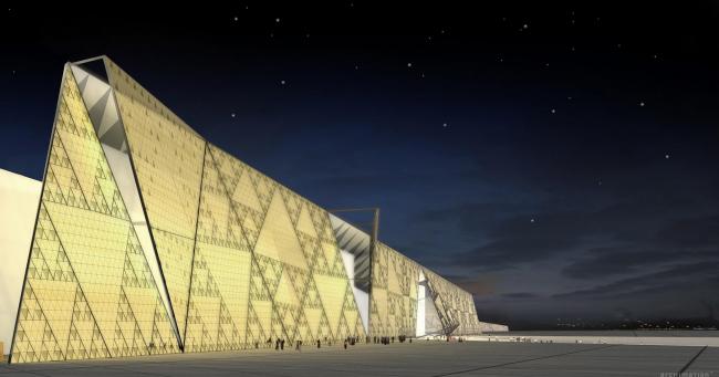 Большой Египетский музей в Гизе © heneghan peng architects
