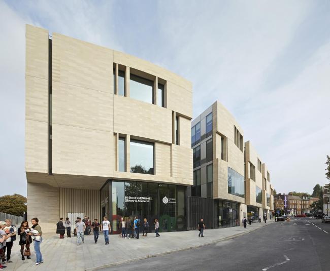 Архитектурная школа Гринвичского университета © Hufton + Crow