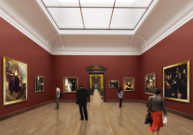 Extension of the National Gallery of Ireland © heneghan peng architects