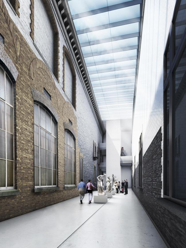 Проект реконструкции Национальной галереи Ирландии в Дублине © heneghan peng architects