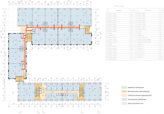Арма: корпуса 4, 5, 5а. План 4 этажа © Сергей Киселев и Партнеры