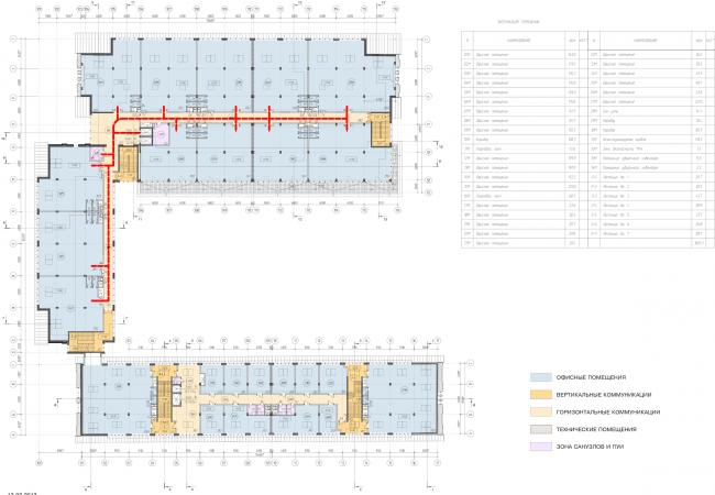 Арма: корпуса 4, 5, 5а. План 3 этажа © Сергей Киселев и Партнеры