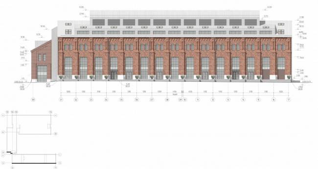 Арма: корпуса 4, 5, 5а. Фасад © Сергей Киселев и Партнеры